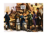 London During the Blitz Giclee Print by  English School