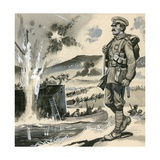 Royal Marines in the Amphibious Landings at the Dardanelles in 1915 Giclee Print by  English School