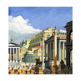 Ancient Rome Giclee Print by Severino Baraldi