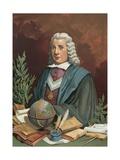Pedro Rodriguez, Conde de Campomanes Giclee Print by P. Y. Valor