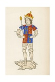 King Richard III, 1483-85 Giclee Print by Henry Shaw