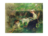 Tea in the Garden, 1902 Giclee Print by Walter Frederick Osborne