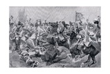 The Battle of Malplaquet, c.1910 Giclee Print by Richard Caton Woodville