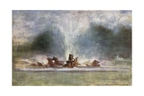 Fountains at Versailles Giclee Print by Mortimer Ludington Menpes