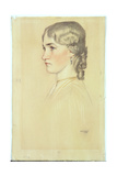 Study of a Head, 1906 Giclee Print by William Strang