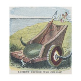 Ancient British War Chariot Giclee Print by  English School