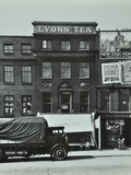 Lyons Coffee House, 7 Blackfriars Road, 1935 Photographic Print by  English Photographer