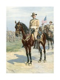 Major-General Wesley Merritt, U. S. A. Giclee Print by Thure De Thulstrup
