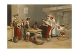 Last Meal of Condorcet Giclee Print by Ricardo Marti