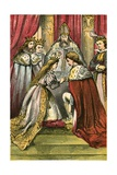Marriage of the Marquis and Princess Giclee Print by  English School