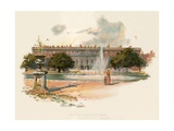 Hampton Court, East Front Giclee Print by Charles Wilkinson