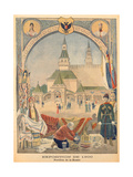 The Russian Pavillion at the Universal Exhibition of 1900, from 'Le Petit Journal', 25 February… Giclee Print by Pierre Mejanel