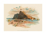 Gibraltar from the Neutral Ground Giclee Print by Charles Wilkinson