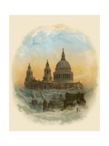St Paul's Cathedral, London Giclee Print by Arthur Wilde Parsons