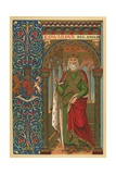 St Edward the Confessor Giclee Print by  English School
