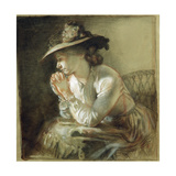 Wife of the Artist, 1903 Giclee Print by Sir William Orpen