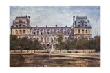 Hotel de Ville Giclee Print by Mortimer Ludington Menpes