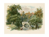 Trinity College Bridge, Cambridge Giclee Print by Charles Wilkinson