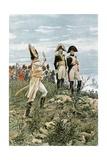 Prince Murat Saluting the Emperor Giclee Print by Felicien Baron De Myrbach-rheinfeld