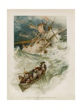 Illustration for Robinson Crusoe Giclee Print by Joseph Finnemore
