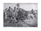 Ramillies: Marlborough Leading the Cavalry into Action, c.1910 Giclee Print by Richard Caton Woodville
