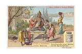 India, Brahma Giclee Print by  European School
