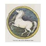 Invicta, the Saxon Emblem of Kent Giclee Print by  English School