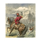 Earl Douglas Advancing with His Men Giclee Print by F. Tayler