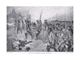 The Battle of Blenheim: Storming the Village, c.1910 Giclee Print by Richard Caton Woodville