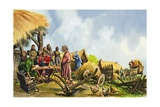The Domesday Book Giclee Print by Peter Jackson