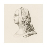 Head Dress II, Early 16th Century Giclee Print by Henry Shaw