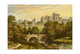 Alnwick Castle Giclee Print by Alexander Francis Lydon