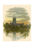 Gloucester Cathedral, North West Giclee Print by Arthur Wilde Parsons