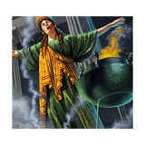 Priestess Entering Trance Giclee Print by Roger Payne