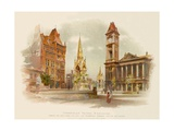 Chamberlain Square, Birmingham Giclee Print by Charles Wilkinson
