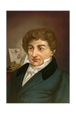 Georges Cuvier Giclee Print by Ricardo Marti