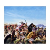 Battle of Cheironeia Giclee Print by Andrew Howat
