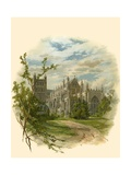 Exeter Cathedral, South East Giclee Print by Arthur Wilde Parsons