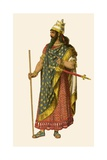 Assyrian King Giclee Print by Albert Kretschmer