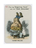 Father William Giclee Print by John Tenniel