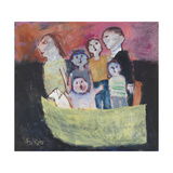 Nuclear Family; 2011 Giclee Print by Susan Bower