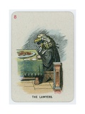 The Lawyers Giclee Print by John Tenniel