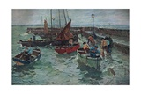 Harbour Scene, c.1915 Giclee Print by Terrick Williams