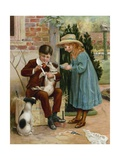 The Boy Doctor Giclee Print by  English School