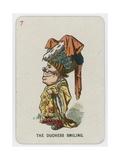 The Duchess Smiling Giclee Print by John Tenniel