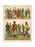 East European Costume Giclee Print by Albert Kretschmer
