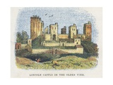 Lincoln Castle Giclee Print by  English School