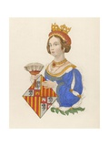 Queen Johanna of Castile Giclee Print by Henry Shaw