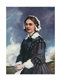 Florence Nightingale Giclee Print by Joseph Simpson