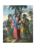 The Journey to Emmaus Giclee Print by Siegfried Detler Bendixen